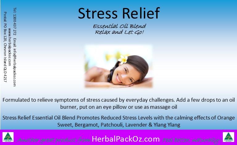 Stress Releif Essential Oil Blend